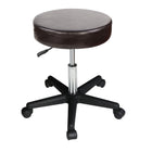 Master Massage Rolling  swivel Stool chocolate