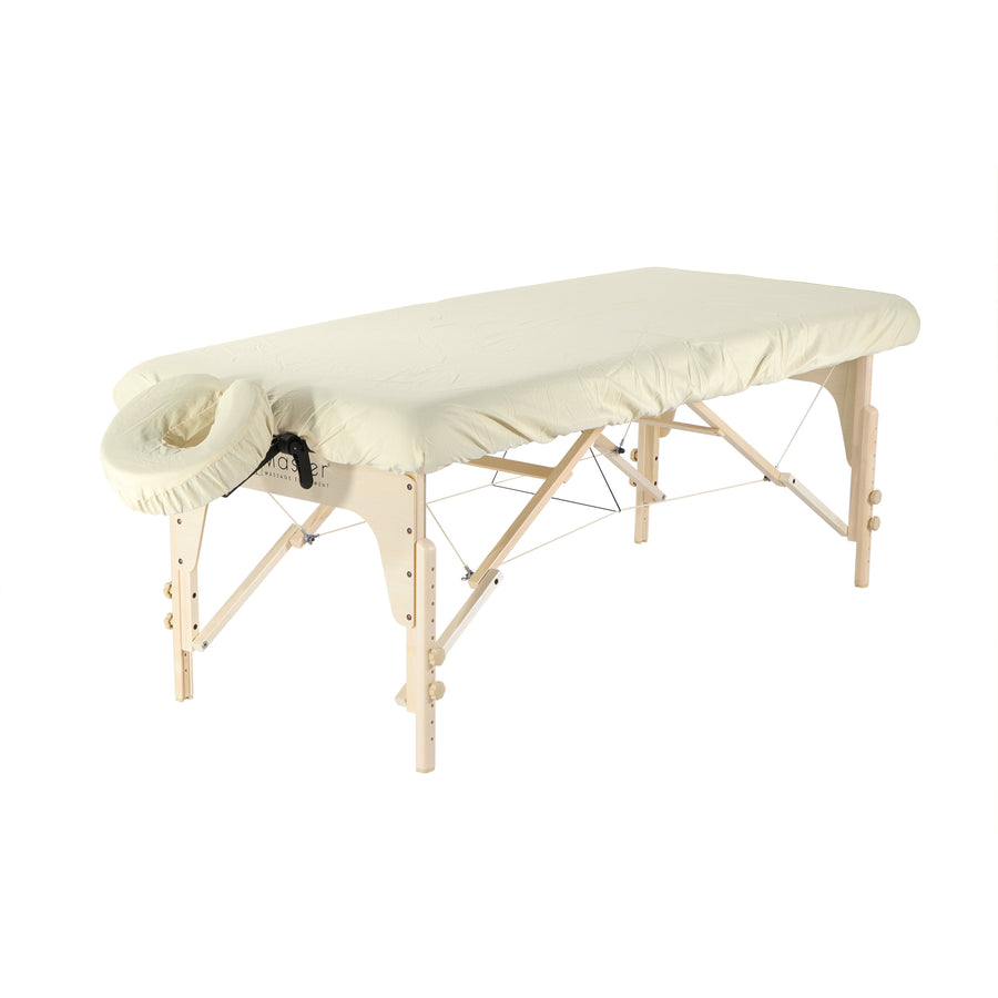 Master Massage Luxury Microfiber Massage Table Cover sand