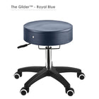 Master Massage Glider rolling Stool blue