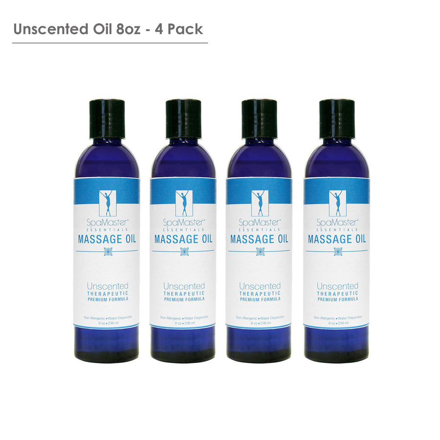 Master Massage Exotic therapy Massage Oil pack of 4