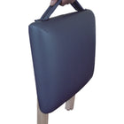 Master Massage Lightweight wooden swivel Folding  Stool blue