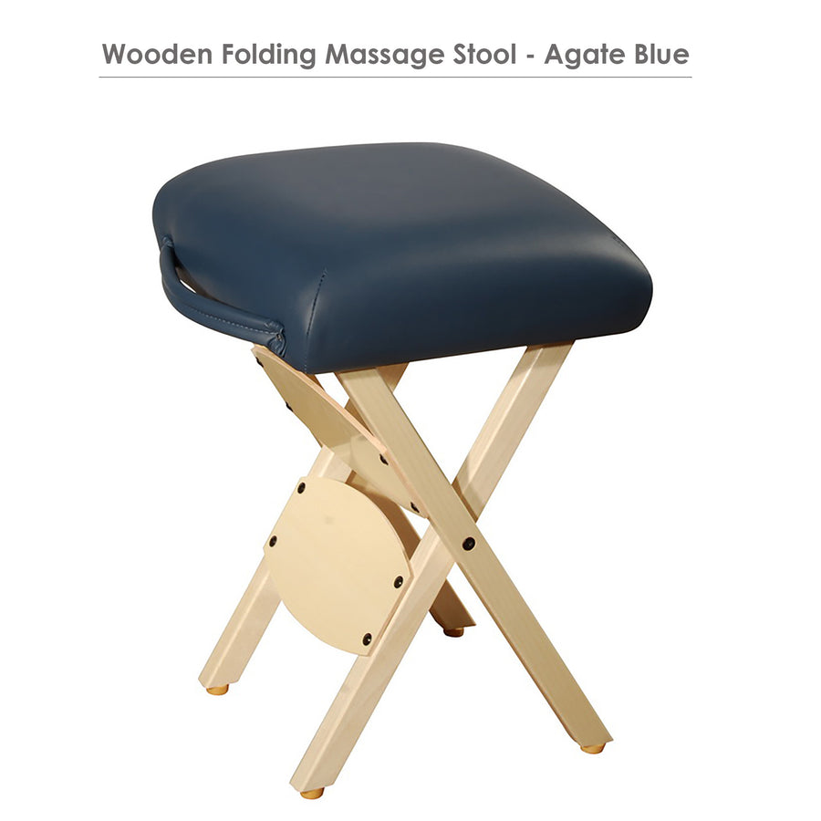 Master portable massage stool foldable salon stool