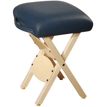 Master Massage Lightweight wooden swivel Folding  Stool