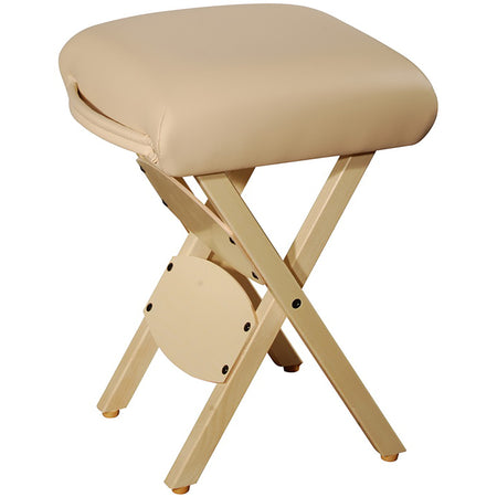 Master Massage  wooden Folding  Stool