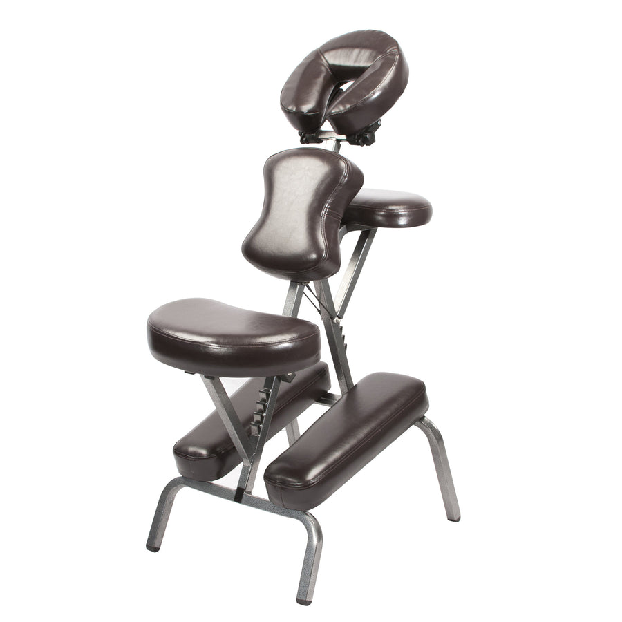 Master Massage The BEDFORD Portable Massage Chair Coffee