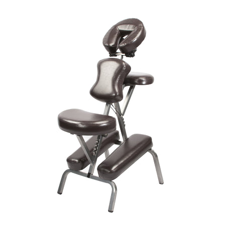 Master Massage - The BEDFORD™ Portable Massage Chair Package - Starter Chair, Coffee Luster