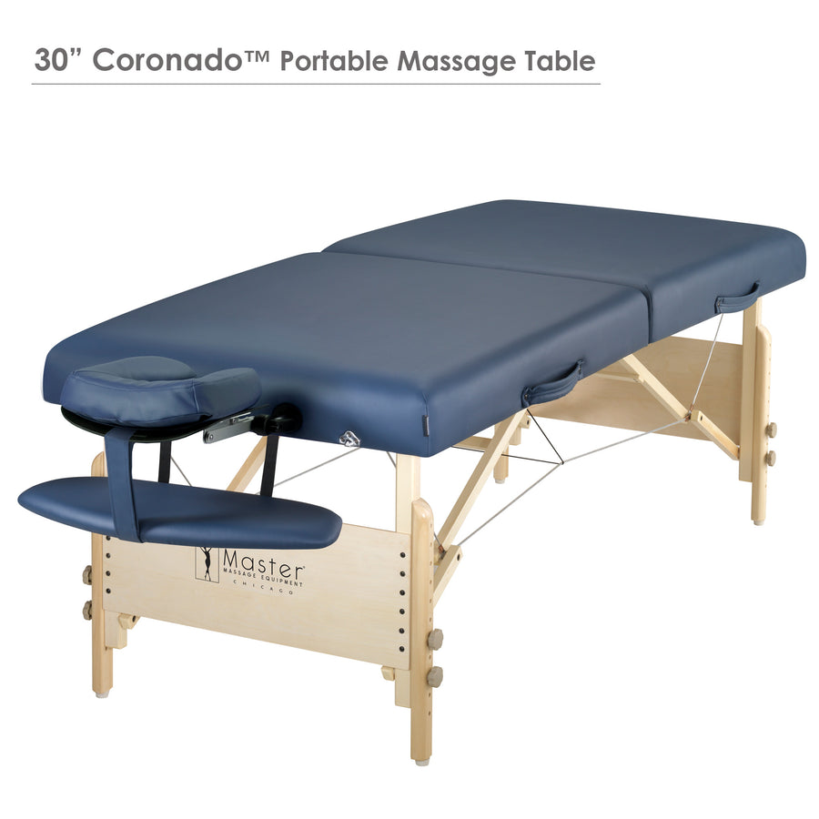 "Master Massage 30"" CORONADO™ Portable Massage Table folding massage table wood massage table facial table"