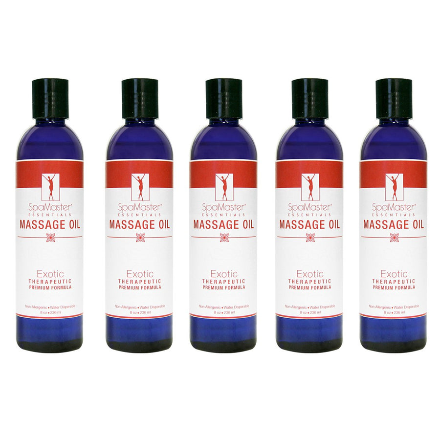 Master Massage Exotic  Massage Oil pack of 5
