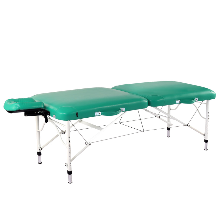 "Master Massage 30"" CALYPSO folding Table Green"