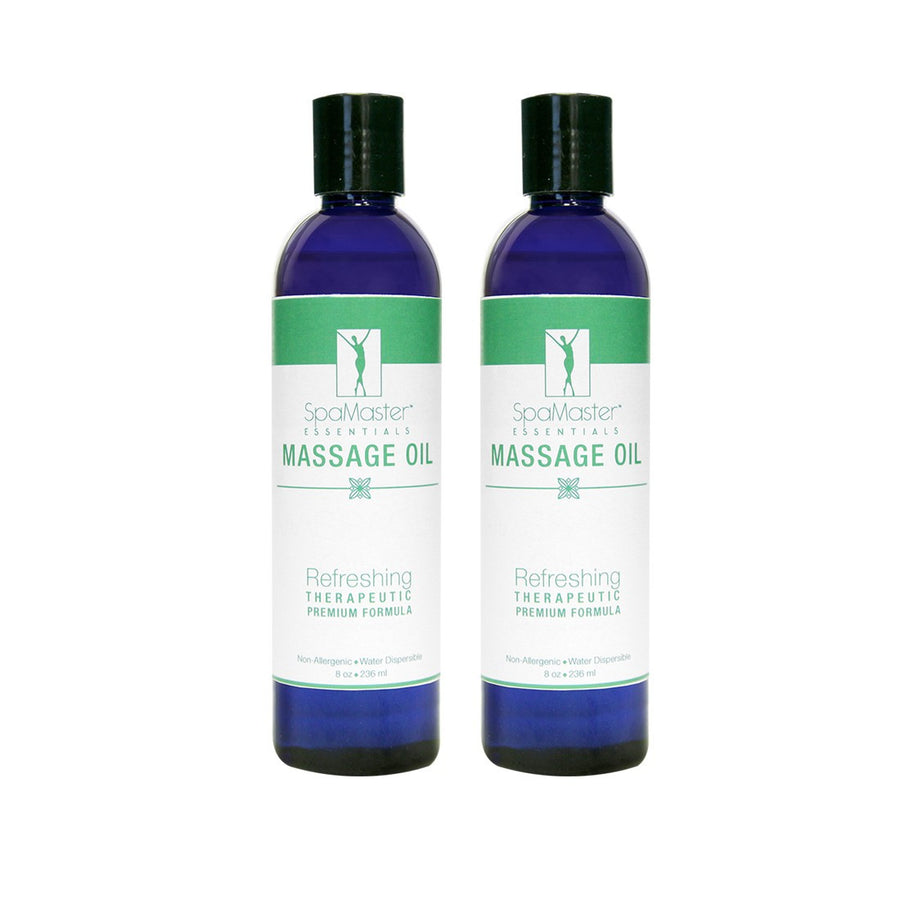 Master Massage  Refreshing Aromatherapy Massage Oil pack of 2