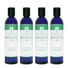 Master Massage  Water Soluble Blend Massage Oil pack of 4