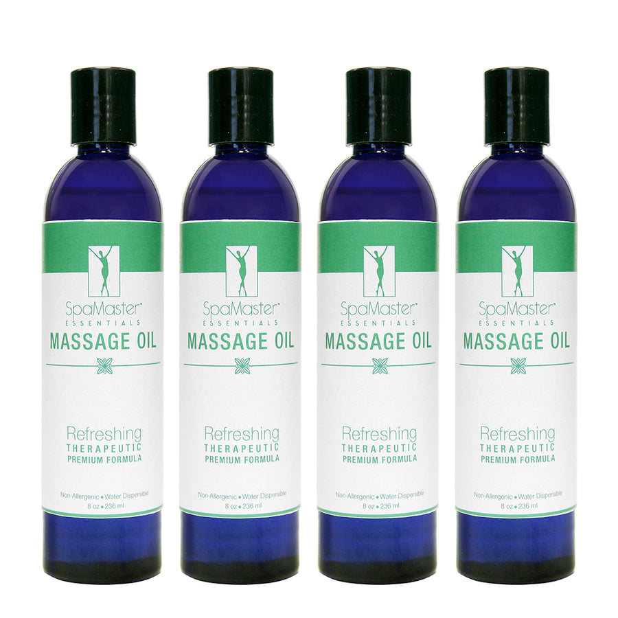 Master Massage - Exotic Aromatherapy Massage Oil For Massage Therapy