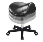 Master Massage Ergonomic Swivel Saddle Stool Black adjustable
