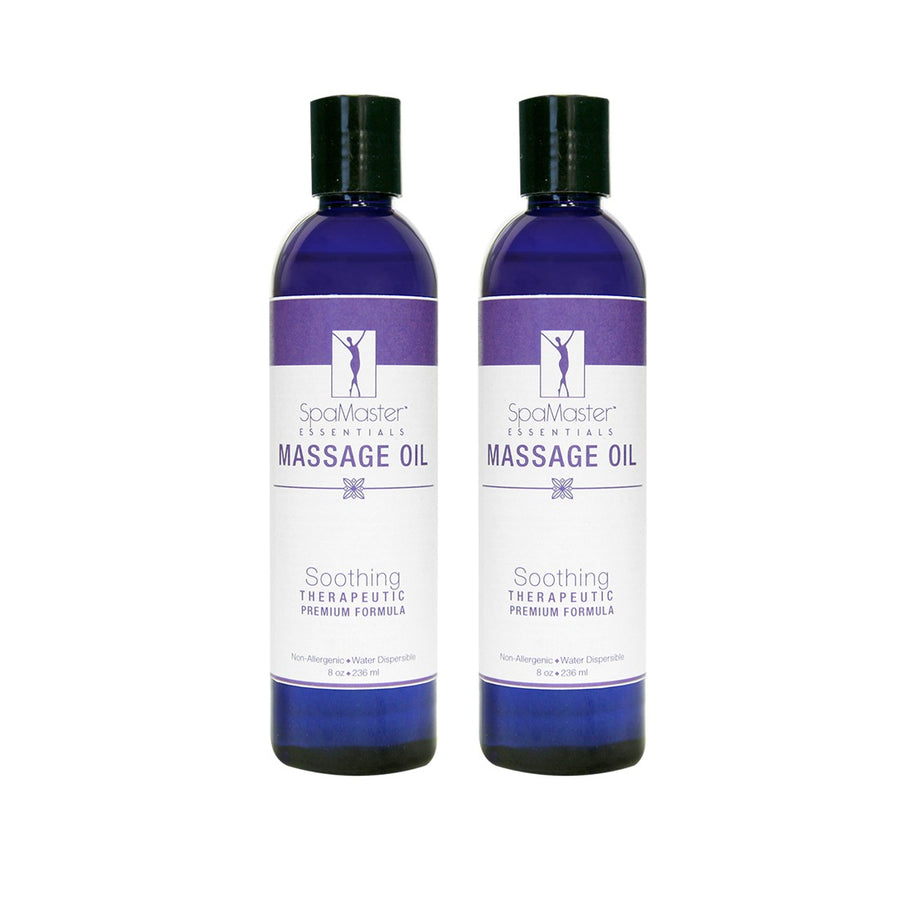 Master Massage  Water Soluble Blend Massage Oil two bottles