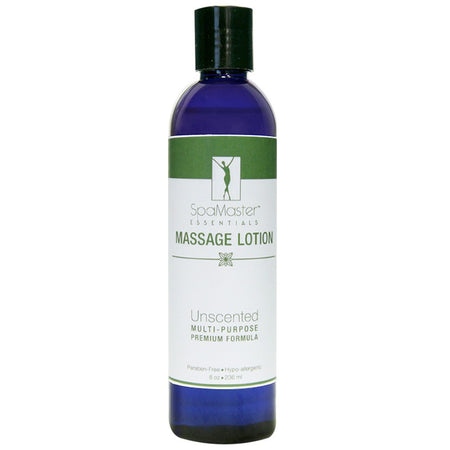 Master Massage - Organic & Unscented Water-Soluble Massage Lotion - Choose from 6 Sizes & Quantity Options!