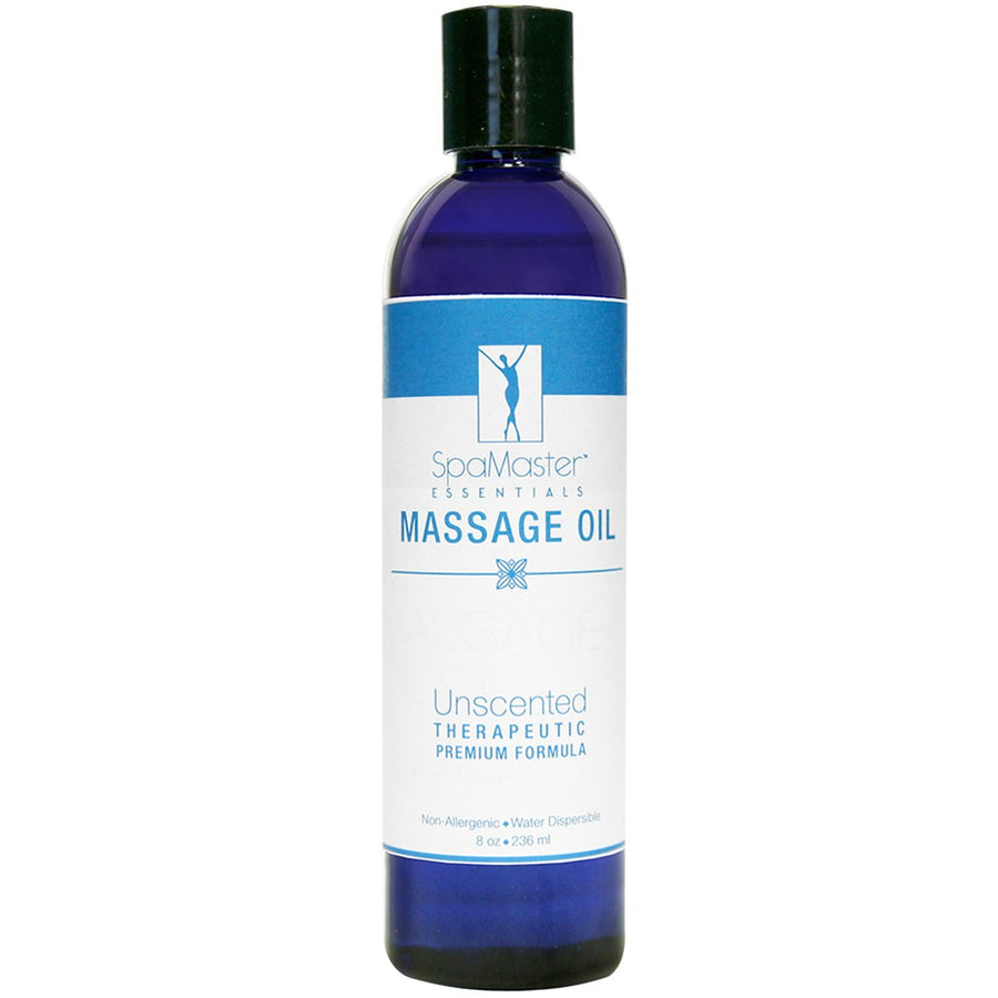 Master Massage - Organic & Unscented Water-Soluble Blend Massage Oil
