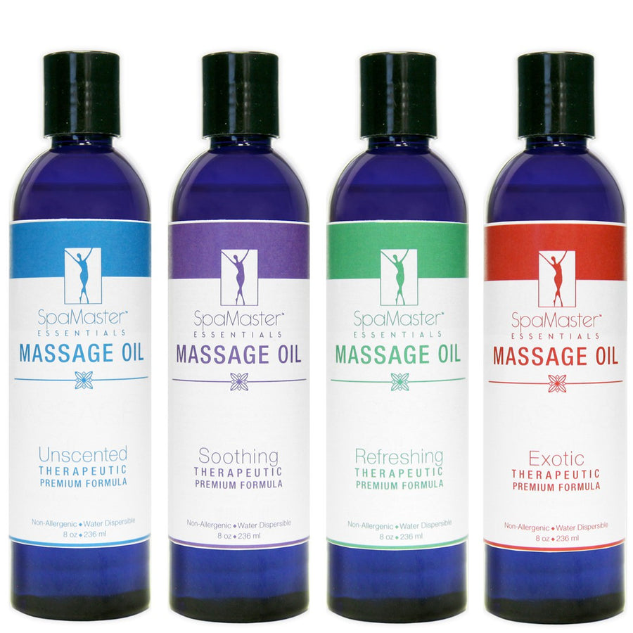 Master Massage  Variety Aromatherapy Massage Oils