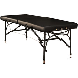 "Master Massage 28"" Violet Sport Table Black"