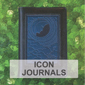 Oberon Design Refillable Leather Icon Journals