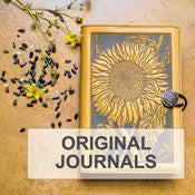 Oberon Design Original Leather Refillable Journals