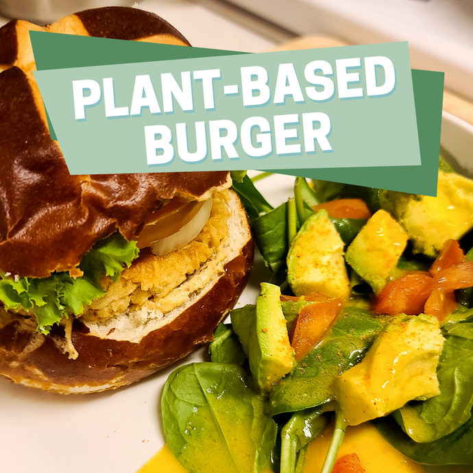 Plant-Based Chick'n Burger