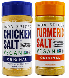 Chicken Salt Original and Turmeric Salt - 2 Pack Combo