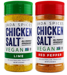 chicken salt vegan and vegetarian seasoning lime and red pepper flavors