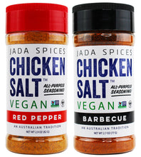 chicken salt vegan and vegetarian seasoning red pepper and barbecue flavors