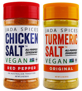 turmeric salt and red pepper vegan and vegetarian all-purpose seasoning flavors