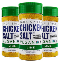 chicken salt vegan and vegetarian seasoning lime 3 pack flavor