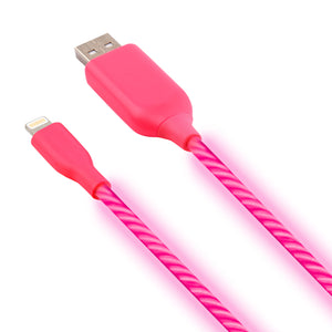 Luminate™ iPhone Android Glowing Cable