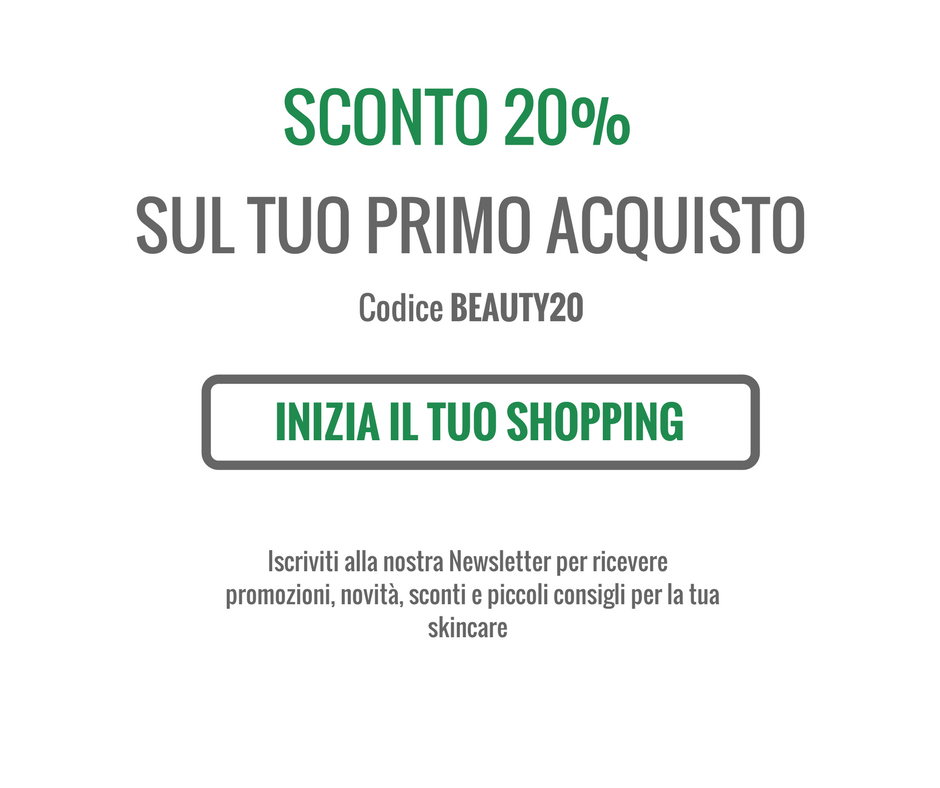 Sconto 20 immediato