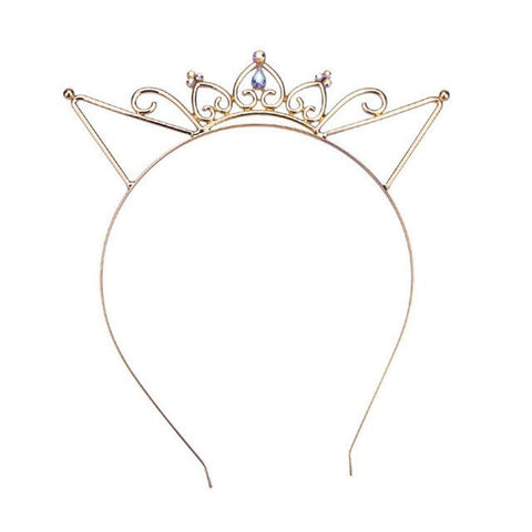 Gold Crown Hairband