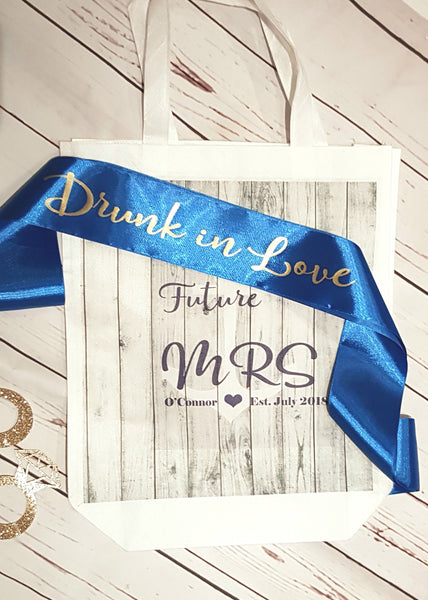 Drunk in Love Marbs Bridal set
