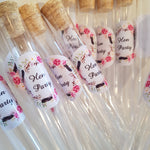 Hen Party test tube shot glass