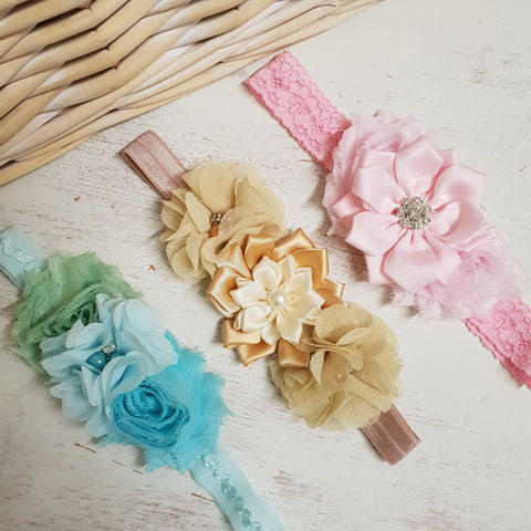 Soft Baby lace headband