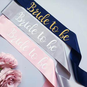 Bride to be Satin Sash - Hen Party