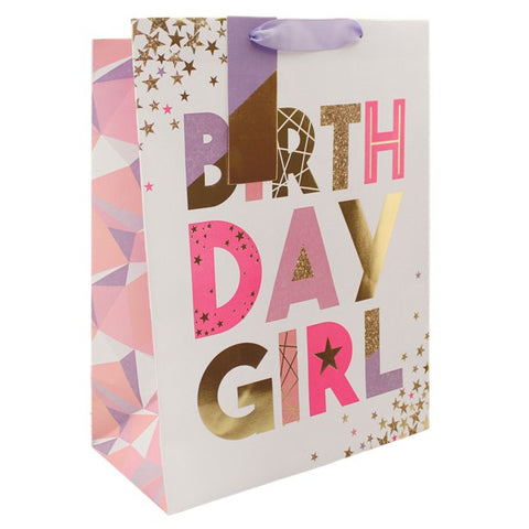 Birthday Girl Gift Bag - Large