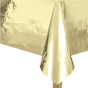 Metallic Gold Foil Tablecover