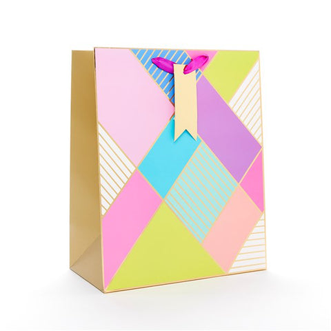 Rainbow Gold Large Gift Bag - 33cm