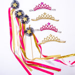 Birthday Buddy Crown & Wand Set - Little Stars Party