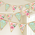 Mint To Be Pennant Banners 4.57m - 12 PC