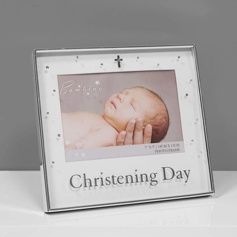 Silver Plated Photo Frame - Christening