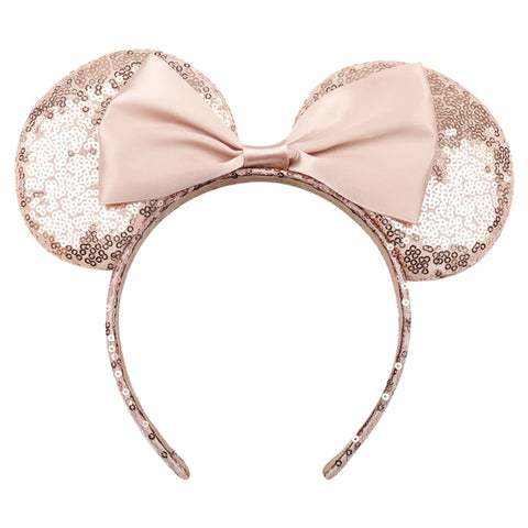 Rose Gold Minnie Mouse Party Girl Ears