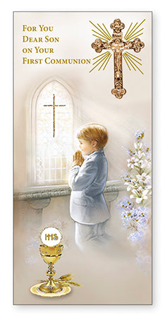 Communion Boxed Card/Son