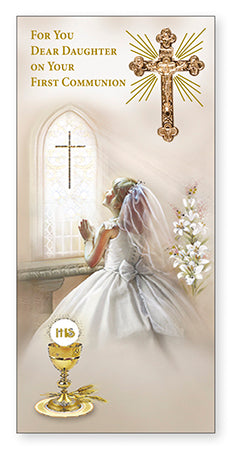 Communion Boxed Card/Daughter