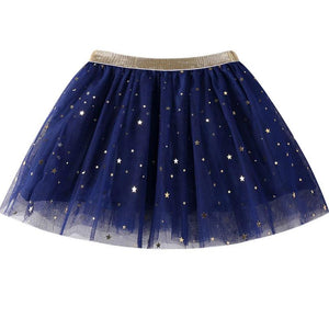 Girls Tutu Skirt - Little Stars Party