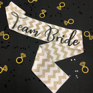 Team Bride Sash Pack - Little Black Dress Hen Party