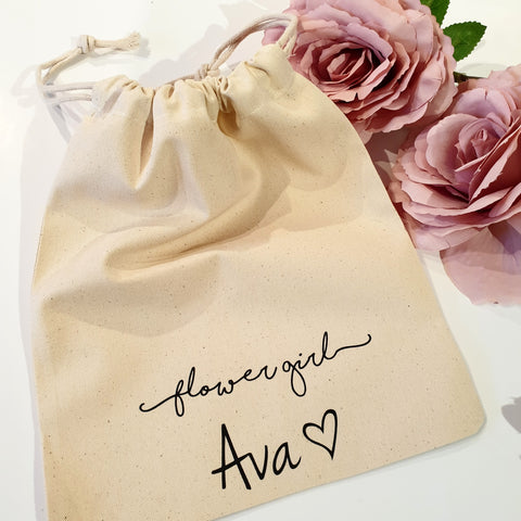 Personalised tote or drawstring bag