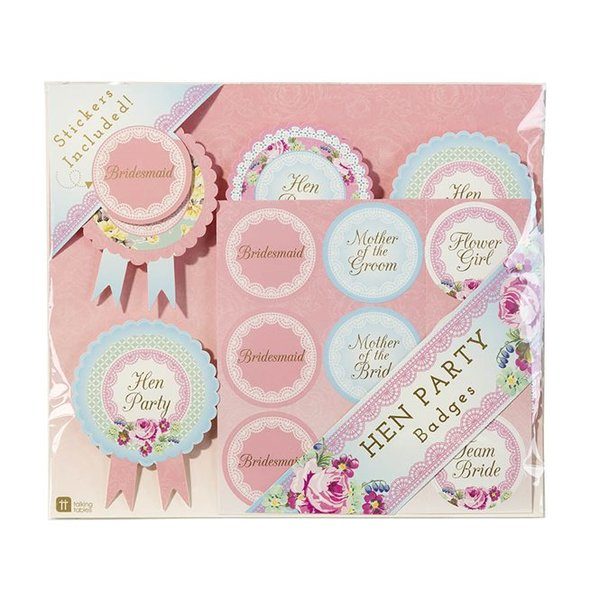 Hen Party Badges Pack